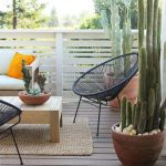 Balcony furniture – space saving and stylish