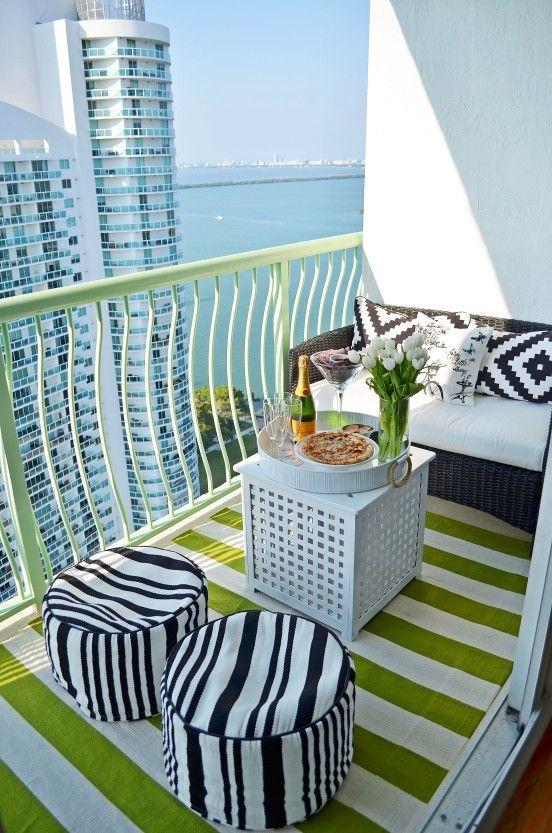Small balcony furniture | deck ideas | Pinterest | Apartment