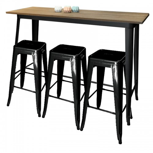 Bar Table Cafe Drinks Tables Rectangle, Square