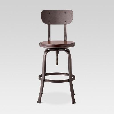 Dakota Backed Adjustable Barstool : Target