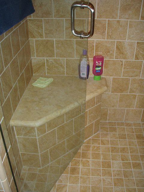 bench in master bath in 2019   Bathroom   Shower seat, Bathroom, Shower