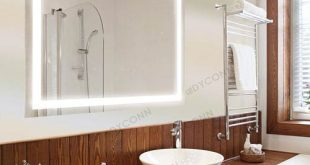 Dyconn Edison 30x36 Horizontal/Vertical Wall Mounted Backlit Vanity
