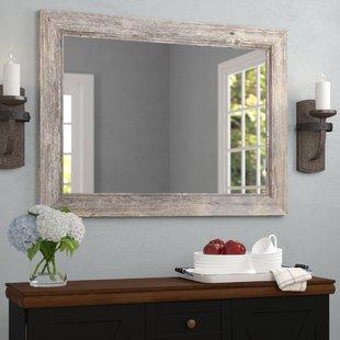 Bathroom mirror beautiful and functional!