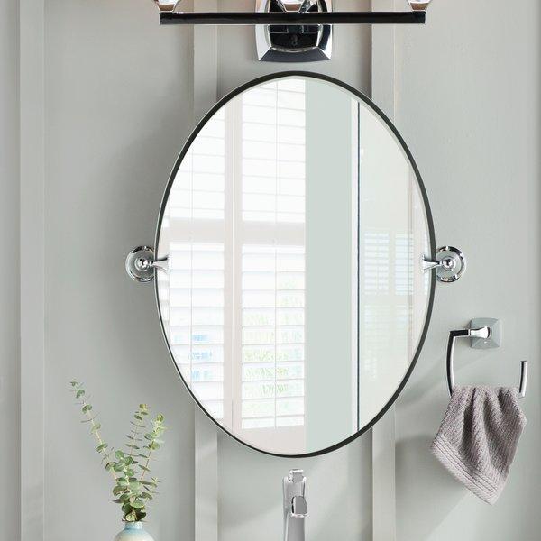 DN2692CH,BN Moen Glenshire Wall Mirror & Reviews | Wayfair