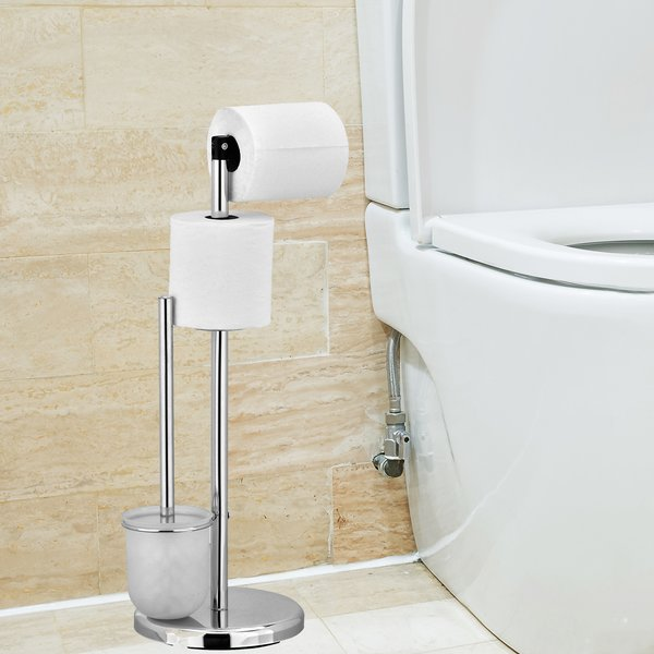 Bathroom roll holder