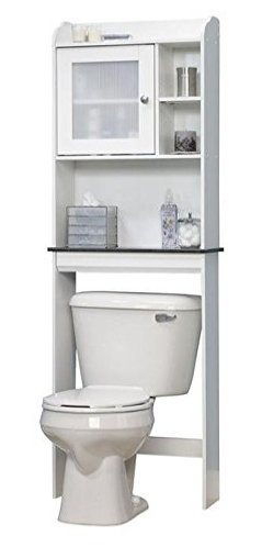 Amazon.com: CENTER Bathroom Shelves Over Toilet,Bathroom Etagere
