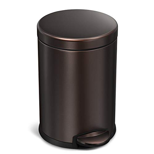 Bathroom Trash Cans with Lids: Amazon.com