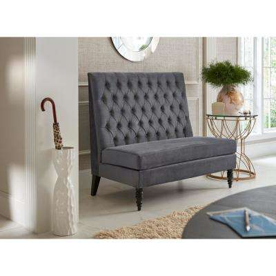 Silver - Bedroom Benches - Bedroom Furniture - The Home Depot