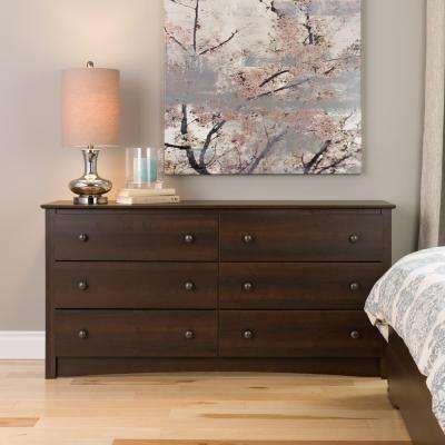 Bedroom dresser as a wardrobe alternative