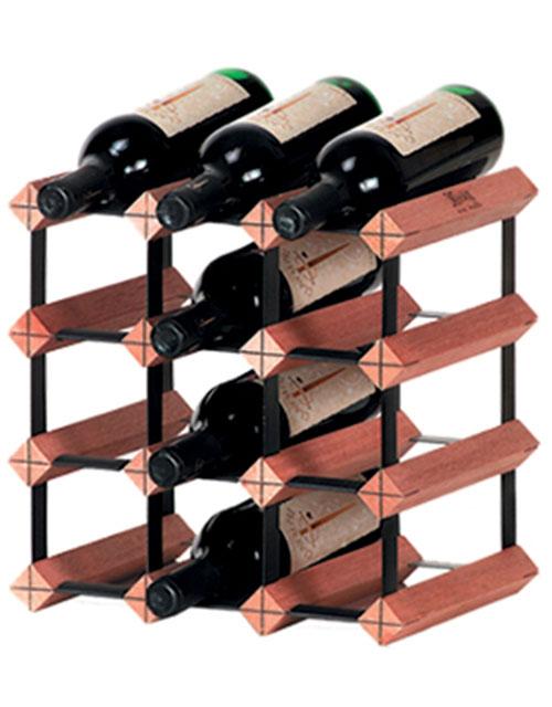 Monterey Wine Racks 12-Bottle Rack Kit : WineRacks.com