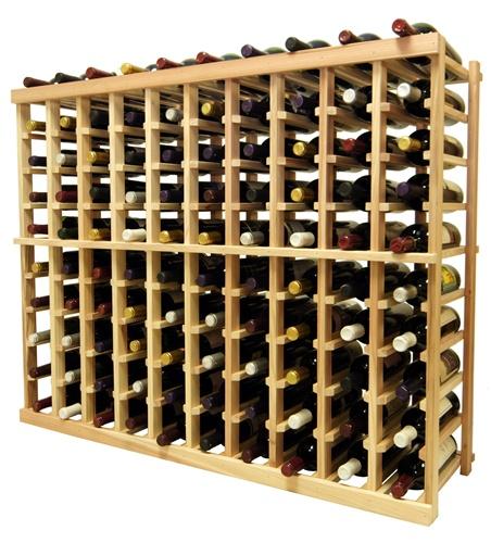 Vintner 3' Series 10 Column Individual Bottle Wine Rack