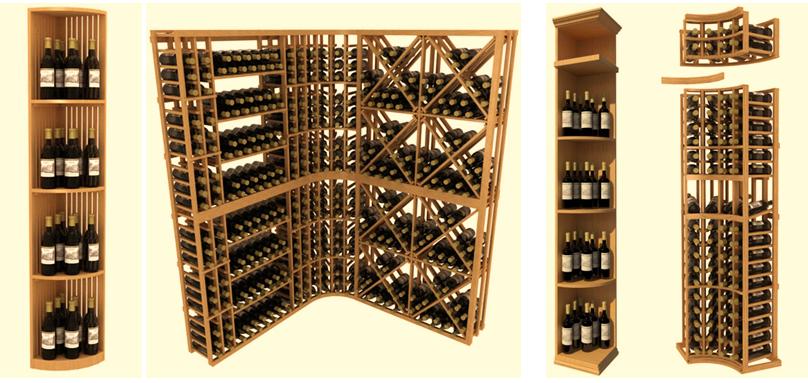 Modular Wine Cellar Racks - Arctic Metalworks Inc.