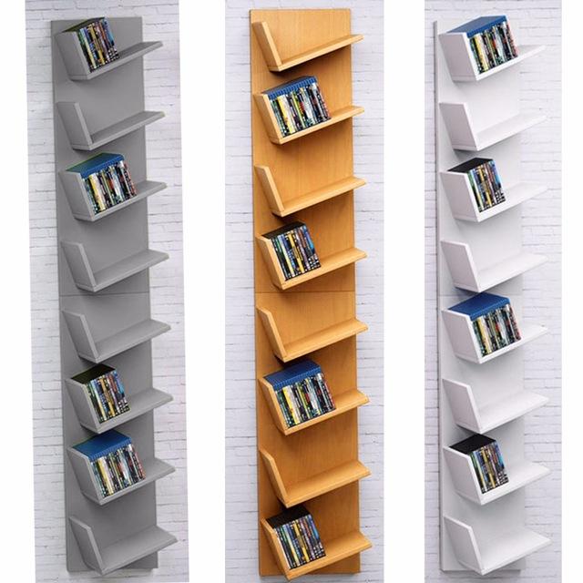 Homdox Home CD Rack Cabinets Bookcase Bookshelf Storage Shelf