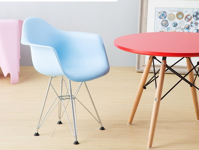 Modern Design popular FREE SHIPPING kids plastic arm chair Children