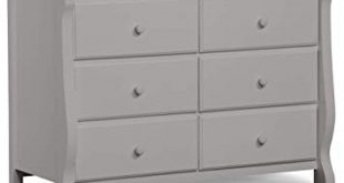 Amazon.com : Delta Children Universal 6 Drawer Dresser, Grey : Baby