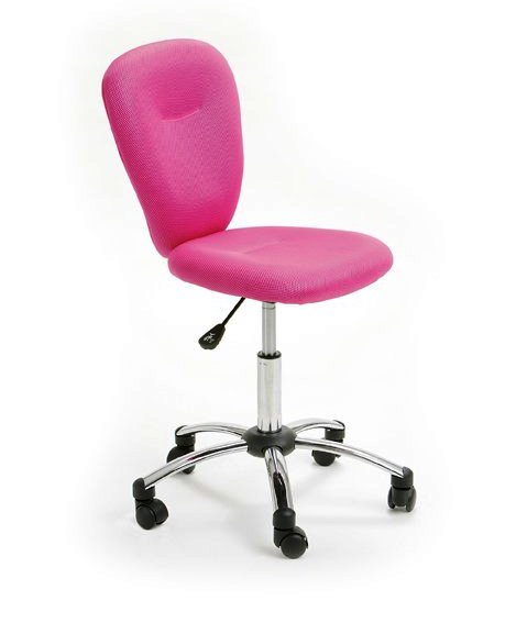 Pezzi Childrens Office Swivel Chair In Pink Office Chairs School