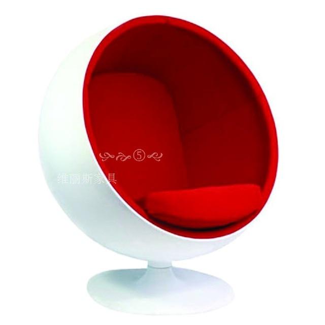 FRP great big ball chair egg chair bubble chair swivel chair