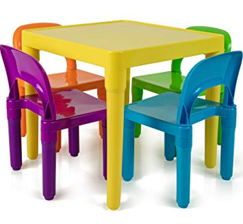 Amazon.com: Kids Table and Chairs Set - Toddler Activity Chair Best