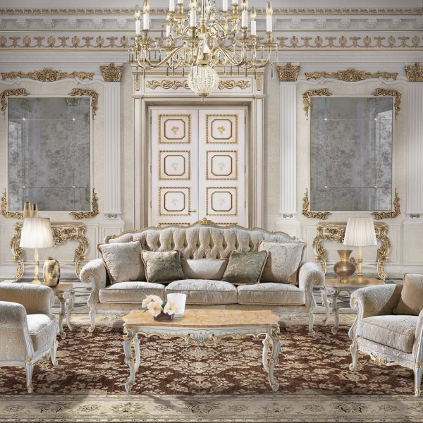 Luxury classic furniture in Louis XIII - Baroque style by Angelo