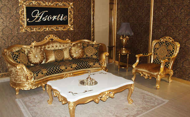 VICTORIA SOFA SET | Turkey Classic Furniture