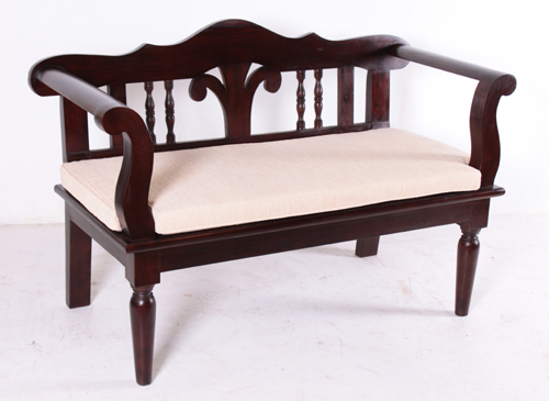 Novotel Bench | Indonesia Colonial Furniture | Colonial Furniture