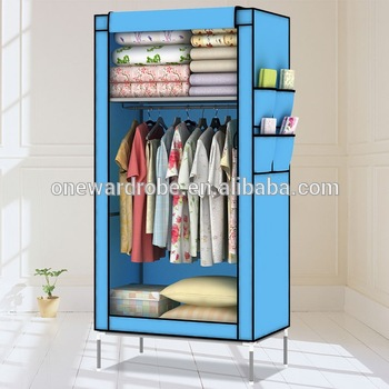 Small Compact Non-woven Fabric Cheap Bedroom Wardrobes - Buy