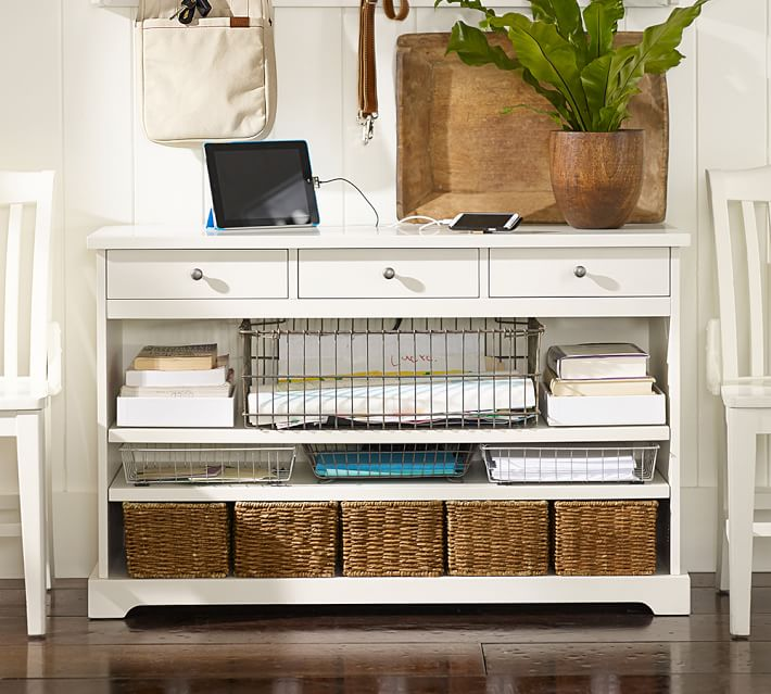Samantha Smart Technology Console Table | Pottery Barn