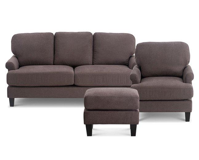 Reno Ottoman - Furniture Row