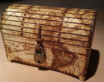 Decorative chest | Etsy
