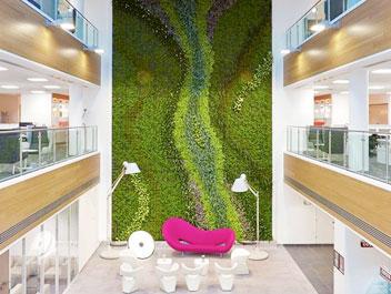 Vertical Garden Systems - Architek Green Building Solutions | Architek