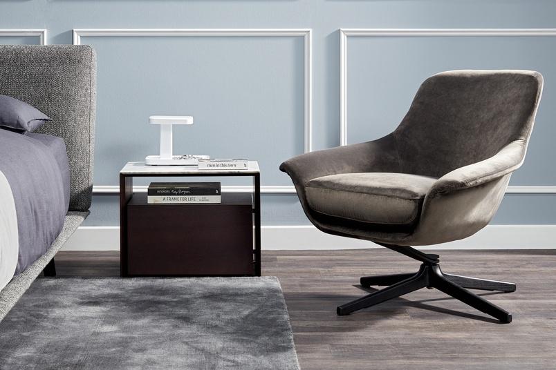 Designer armchair u2013 Seymour by King Living u2013 Selector