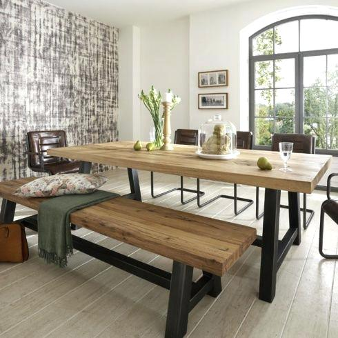 Dining benches are space saving & comfortable!
