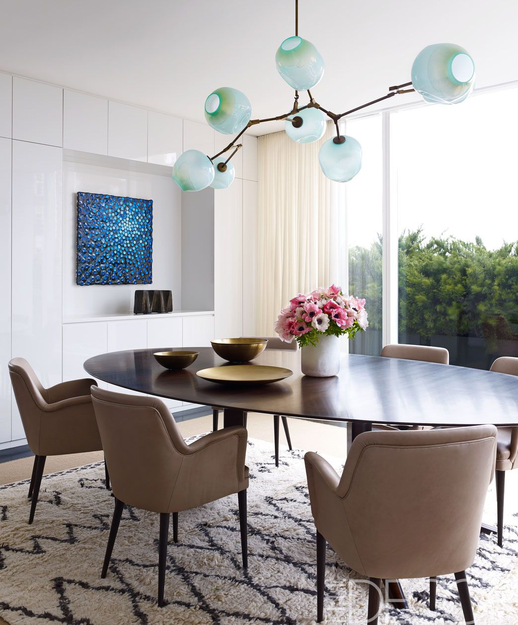 25 Modern Dining Room Decorating Ideas - Contemporary Dining Room