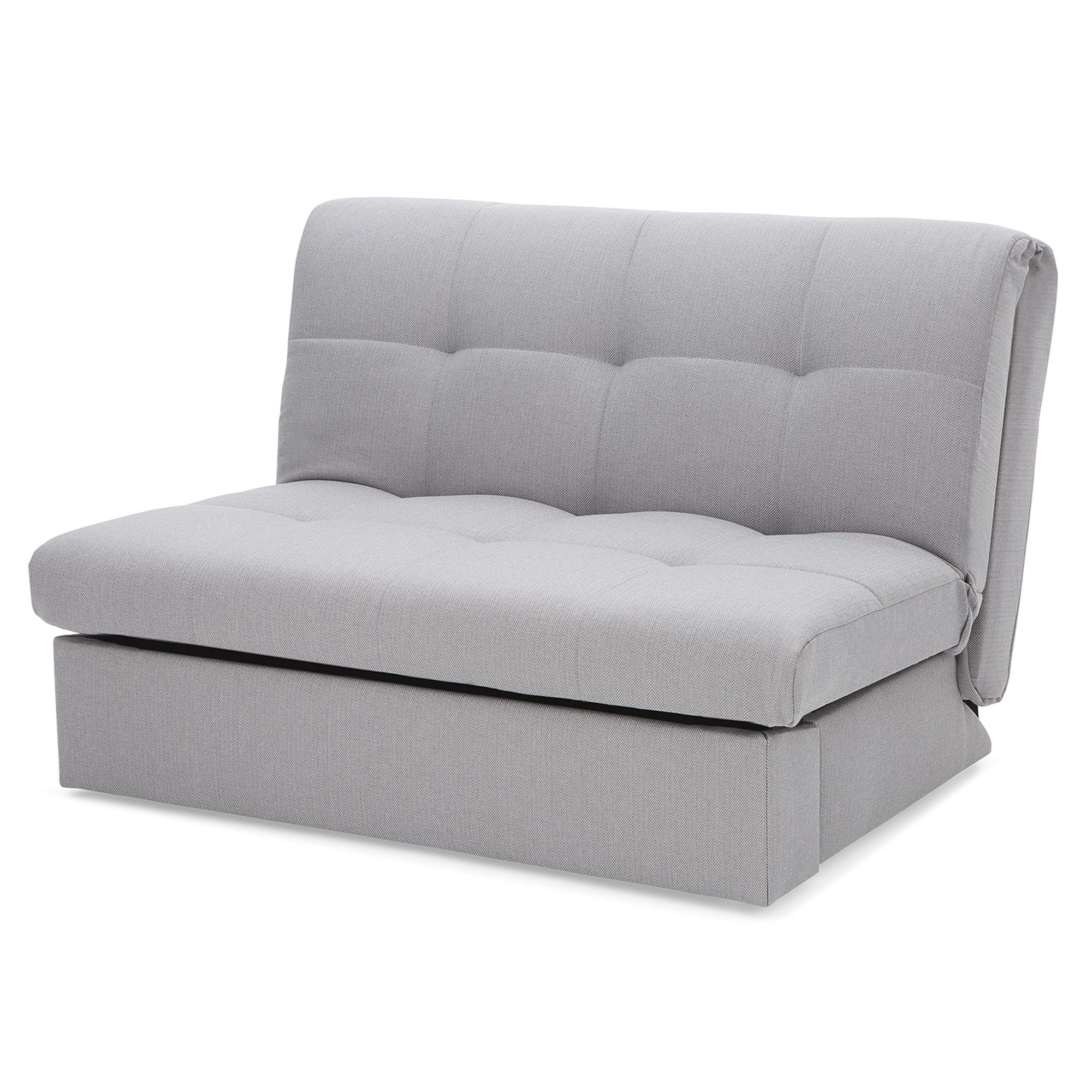 Grey Rowan Small Double Sofa Bed | Dunelm