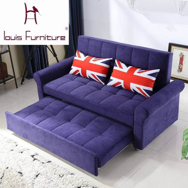 Modern bedroom furniture small apartment sofa bed multifunctional