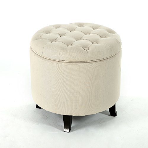 Amazon.com: Belleze Modern Button Tufted Accent Storage Ottoman Lift