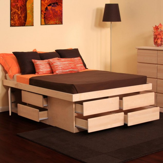 17 Multi-functional Beds With Storage Design Ideas For Your Home