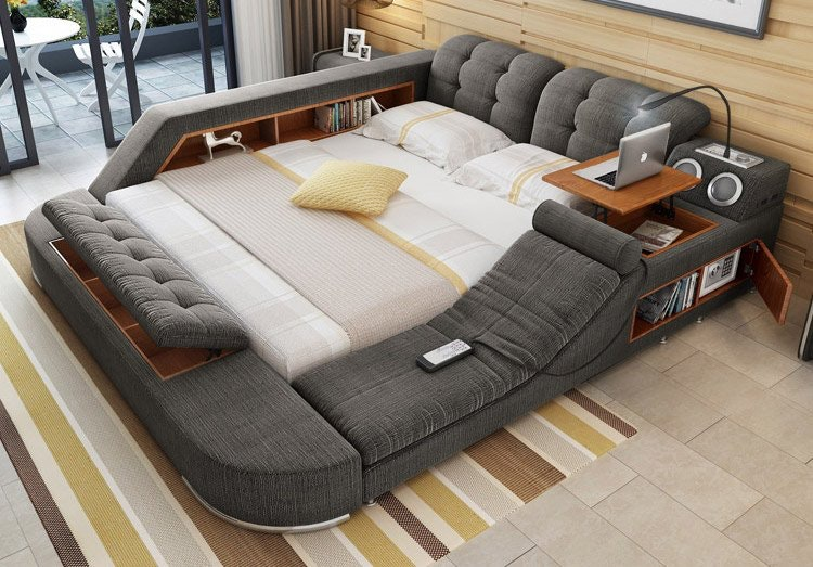 This Cool Bed is the Ultimate Piece of Multifunctional Furniture