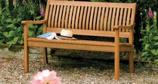English Garden 48-inch Wooden Bench