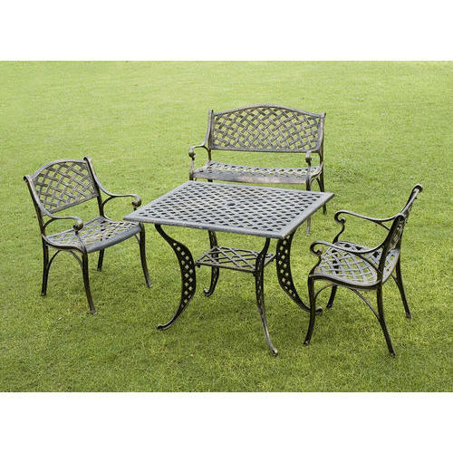 MS Garden Chair & Table Set at Rs 9000 /piece | Garden Chairs | ID