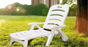 Thicken Pool Folding Sun Loungers portable deck chair Outdoor