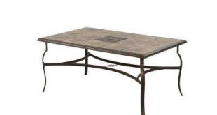 Rectangle - Patio Tables - Patio Furniture - The Home Depot