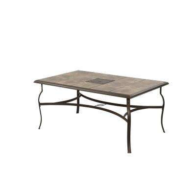 Hampton Bay - Bronze - Patio Tables - Patio Furniture - The Home Depot