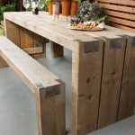 Garden tables for sociable evenings
