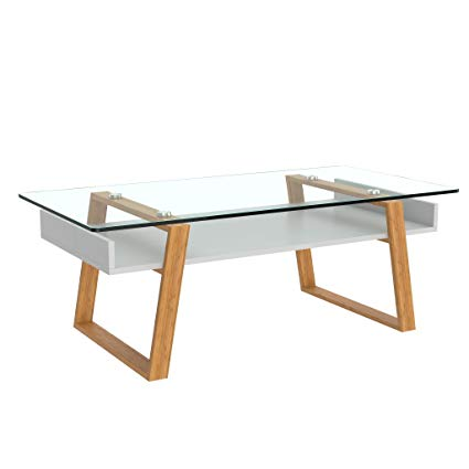 Amazon.com: bonVIVO Designer Coffee Table Donatella, Modern Coffee