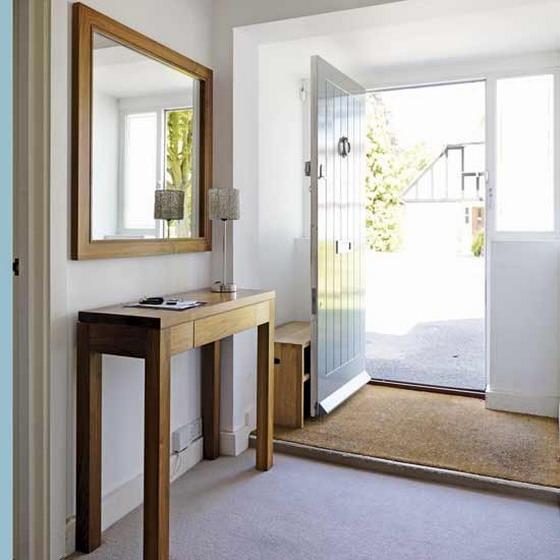 15 Creative Ways To Set Mirror in The Hallway