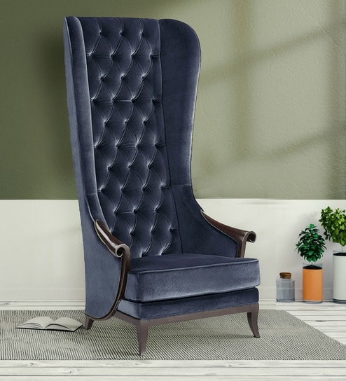 Buy Versatile Comfy Effect High Back Chair In Black Colour By