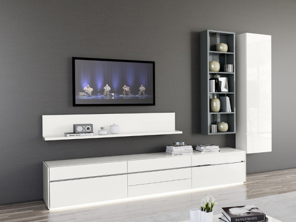 Living Room Furniture Wall Units For Living Room Contemporary