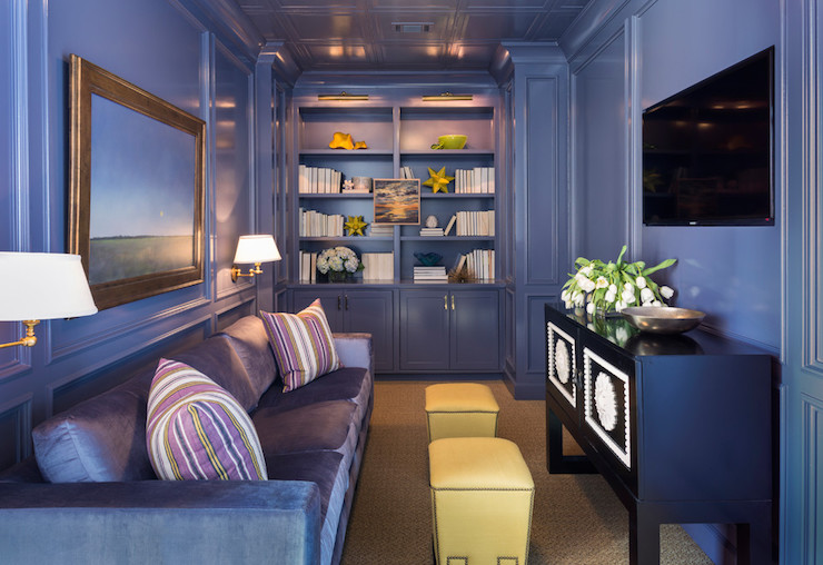 Purple Room Ideas - Contemporary - Living Room - Sherwin Williams