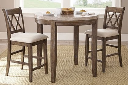 Small Kitchen & Dining Tables & Chairs for Small Spaces - Overstock.com
